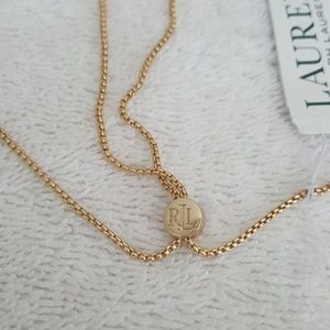 Ralph Lauren Jewelry - New Ralph Lauren Faux Pearl/Keys Pendant Necklace